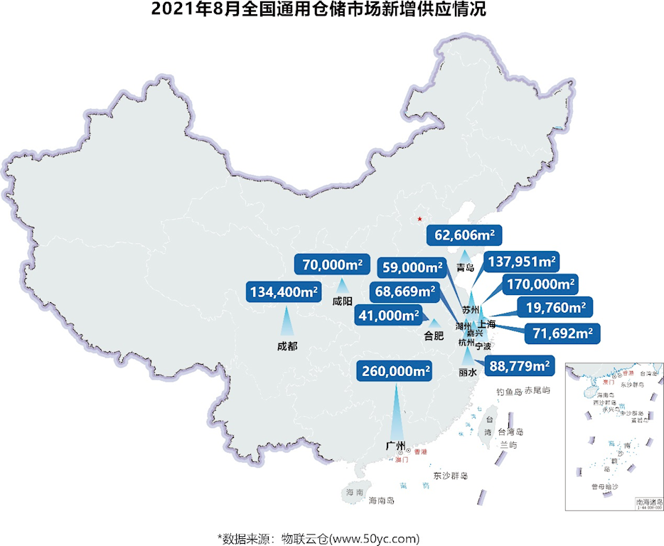 需求持续增长!《2021年8月中国通用仓储市场动态报告》发布